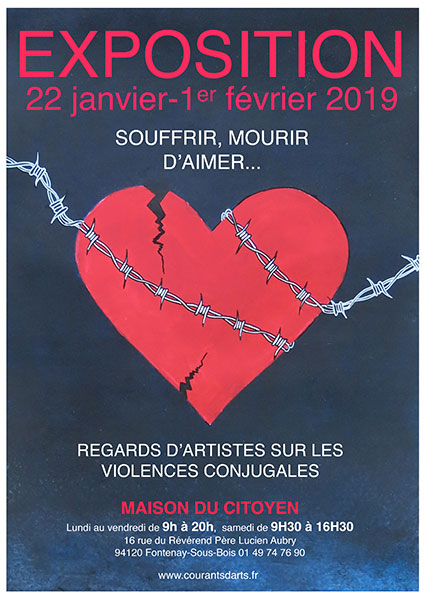 Regards d'artistes sur les violences conjugales